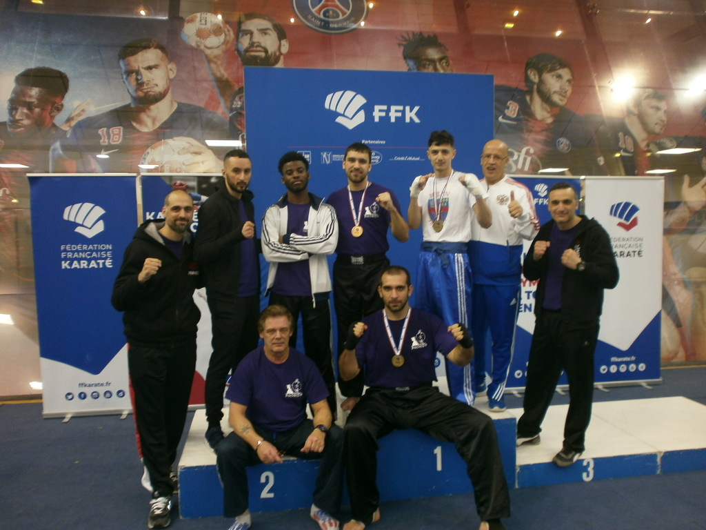 CHAMPIONNAT DE FRANCE DE K CONTACT DU 9/03/2019 PARIS