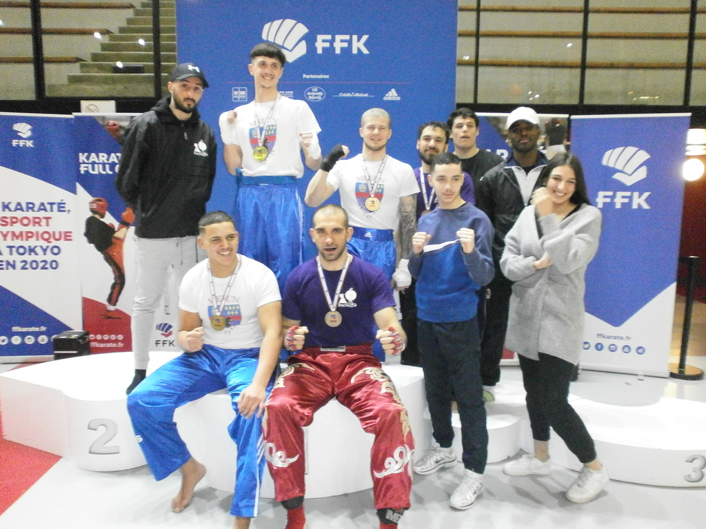 CHAMPIONNAT DE FRANCE DE KARATE CONTACT 2020