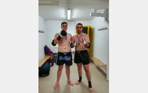 guillaume vice champion de France de muay thai classe B  AFMT  2018