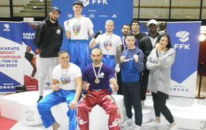 Championnat de France karate contact 2020